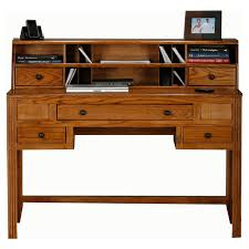 Mission Style Computer Desk With Hutch by Belham Living Everett Mission Writing Desk With Optional Hutch