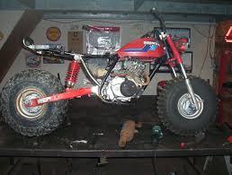 my honda 200e s 2 wheeler conversion