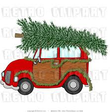 christmas tree clip art royalty free retro christmas tree and