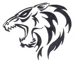 design wolf tribal tattoos meaning tribal wolf