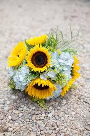 Sunflower Bouquets Sunflower Wedding Bouquet Archives Southern Weddings