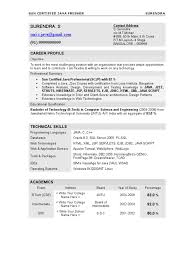 Resume Format Pdf For Engineering Freshers In India by Resume Surendra Java Fresher Java Server Pages Java