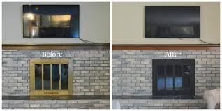 fresh faux painting fireplace brick decoration ideas collection