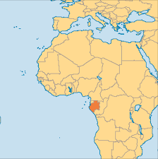 Rio On World Map by Gabon Operation World