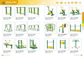 Backyard Gymnastics Equipment Safety Multifunctional Outdoor Fitness Equipment Outdoor Gymnastic