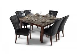 bobs furniture kitchen table set montibello 54 x 54 dining 7 set dining room sets