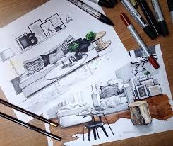 1025 best design interior archi sketching images on pinterest