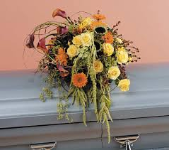 how to make a casket spray sofia florist funeral casket spray flowers delivery sofia