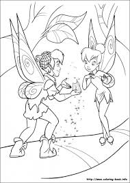free tinkerbell coloring pages 31695