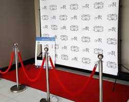 custom photo backdrops step and repeat etsy