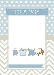 blank baby shower invitations templates best 25 ba shower