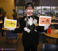 Monopoly Halloween Costume Monopoly Rich Uncle Pennybags Costume Photo 2 5
