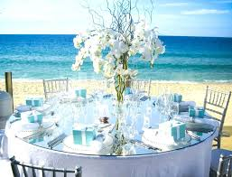 beach party table decor decoration ideas themed decorations for