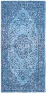 Blue Runner Rug with Runner Rugs Froy