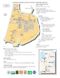 University Of Portland Campus Map by Newport Visitor Information Noaa Pacific Marine Environmental