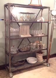 Metal Kitchen Shelves by Steel Shelving Unit Jennifer Price Studio