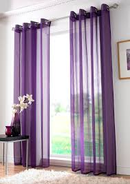 Plain Ring Voile Purple Free Uk Delivery Terrys Fabrics