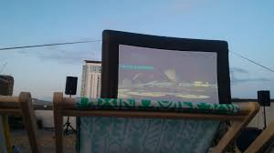 a night at the rooftop movies spinach and specs