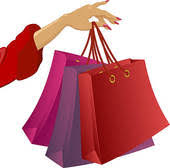 shopping bags clip royalty free gograph