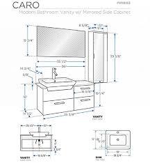 collection in vanity height for vessel sink bathroom vanities buy