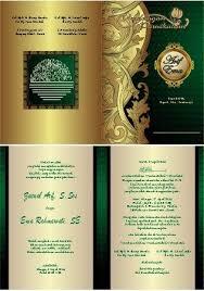 template undangan keren 10 contoh undangan pernikahan doc gratis yang bisa diedit vector