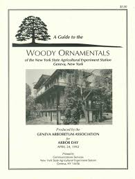 guide to the woody ornamentals of the new york state agricultural