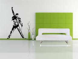 large freddie mercury wall decal queen wall art sticker zoom