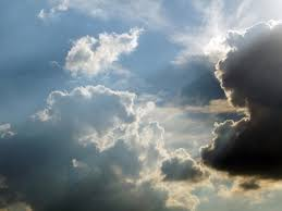 sun rays shining through the clouds free stock photos