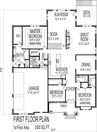 floor plan modern bungalow plans angled garage house story bedroom