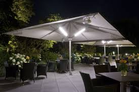 Overhang Patio Umbrella Patio Umbrella Lights Design Ideas Crazygoodbread