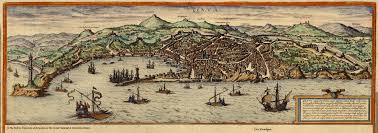 Map Of Genoa Italy by Map Of Genova Braun And Hogenberg 1572