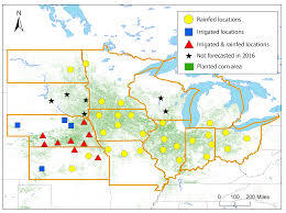Isu Map 2016 Corn Yield Forecasts Approach And Interpretation Of Results