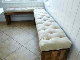 Cushioned Storage Bench Wood Bench Leather Cushion Wood Bench Wooden Benches Custom