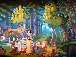 wall mural of snow white s scary adventures snow white s s flickr