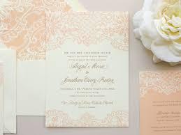 elegant lace wedding invitation vintage lace invitation