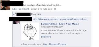 Know Your Meme Forever Alone - forever alone rl