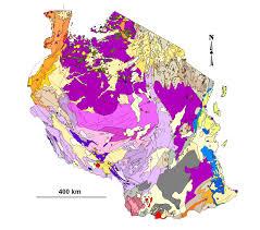 Map Of Tanzania Spilpunt Tanzania