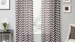 Cream And White Curtains Curtains Wonderful Black And Grey Curtains In A Good Design