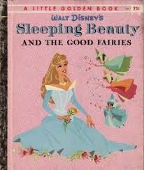 sleeping beauty good fairies golden book