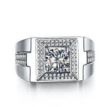 aliexpress buy 2ct brilliant simulate diamond men luxury excellent cut 1ct diamond men s wedding anniversary