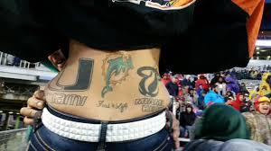 miami sports fan shows off her u0027champ stamp u0027 tattoo sbnation com