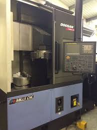 doosan 2012 puma v550 cnc lathe equipped with doosan fanuc cnc