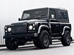 vintage range rover defender car crush land rover defender harris tweed edition by kahn design