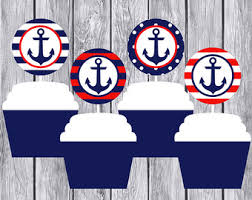 Anchor Decorations For Baby Shower Nautical Baby Shower Etsy