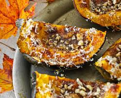 easy thanksgiving recipes spicy roasted acorn squash my s belly