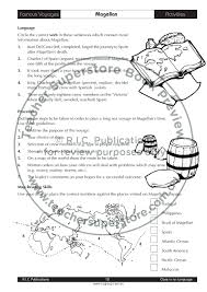 Magellan Route Map by Cloze In On Language Ages 12 14 By Teacher Superstore Issuu