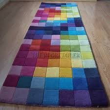 Multi Coloured Rug Uk Funk Rugs In Multi Colour A Pure Wool Range The Rug Retailer