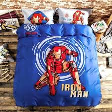 Superhero Twin Bedding Marvel Comics Heroes Reversible Single Duvet Cover Bedding