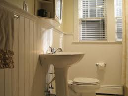wainscoting bathroom ideas pictures simple chocolate three ways wainscoting bathroom tiling and