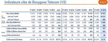 bouygues telecom si e bouygues telecom perd de l argent mais gagne des abonnés fixe et